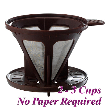 Stainless Steel Mesh Coffee Dripper (HG2320)