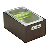 Stainless Steel Knockbox w/ wooden case (BC2406)
