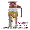 #1215 1.2L Water Pitcher - Red (HG2107)