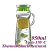 950ml Water Pitcher - Green (HG2290G)