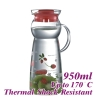 950ml Water Pitcher - Red (HG2291R)