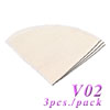 V02 Cloth Socks Coffee Filter-3pcs. pack (HG2520)