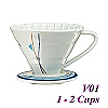 V01 Decal pattern  Coffee Dripper (HG5546B)
