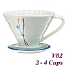 V02 Decal pattern  Coffee Dripper (HG5547B)