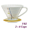 V02 Decal pattern  Coffee Dripper (HG5547G)