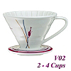 V02 Decal pattern  Coffee Dripper (HG5547P)