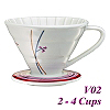 V02 Decal pattern  Coffee Dripper (HG5547R)