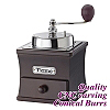 #1232 Coffee Grinder - S.S./Walnut Color (HG6080WA)