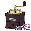 #1232 Coffee Grinder - Gold/Fuschia Color (HG6126PH)
